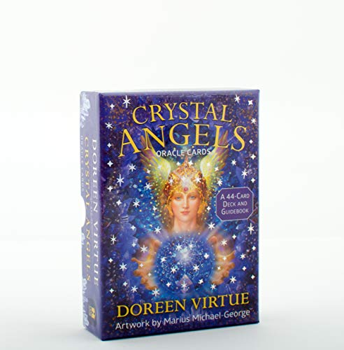 9781401948535: Crystal Angels Oracle Cards: A 44-Card Deck and Guidebook