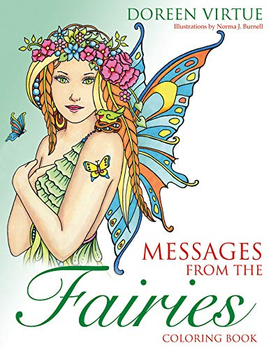 9781401952020: Messages from the Fairies Coloring Book