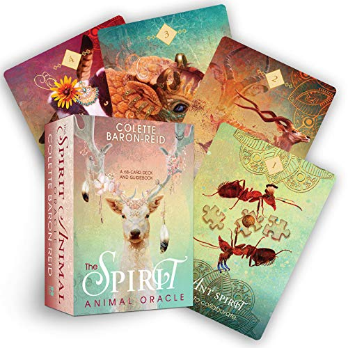 9781401952792: The Spirit Animal Oracle: A 68-Card Deck and Guidebook