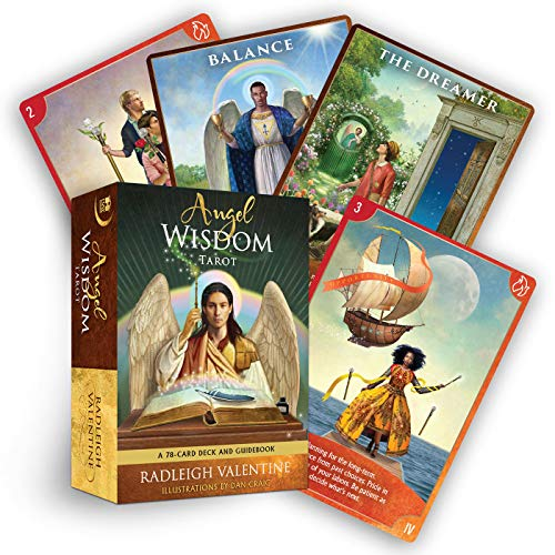 9781401956707: Angel Wisdom Tarot: A 78-Card Deck and Guidebook