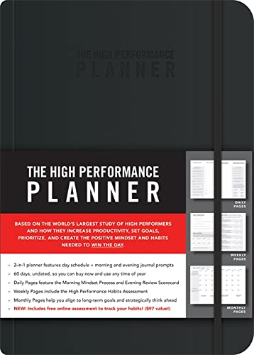 9781401957230: The High Performance Planner
