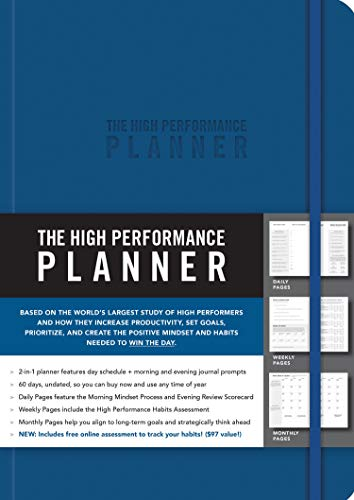 9781401957360: The High Performance Planner [Blue]
