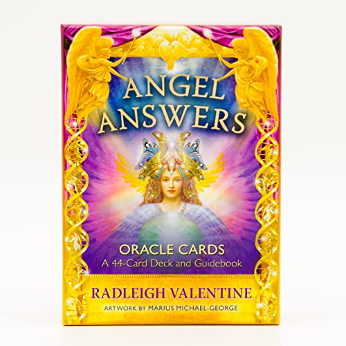 9781401959241: Angel Answers Oracle Cards: A 44-Card Deck and Guidebook