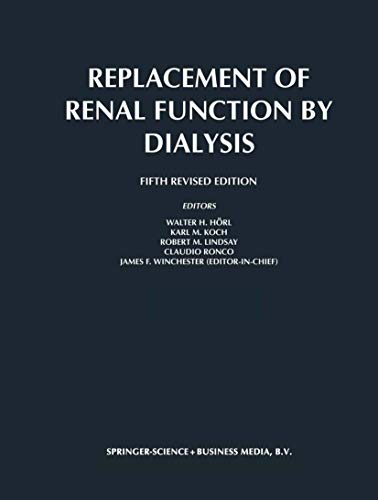 9781402000836: Replacement of Renal Function by Dialysis