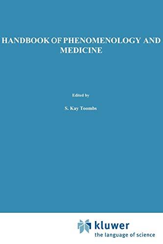 9781402002007: Handbook of Phenomenology and Medicine