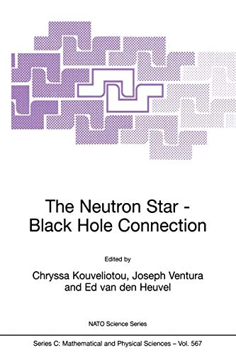9781402002052: The Neutron Star―Black Hole Connection (Nato Science Series C:)