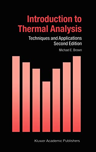 9781402002113: Introduction to Thermal Analysis: Techniques and Applications (Hot Topics in Thermal Analysis and Calorimetry)