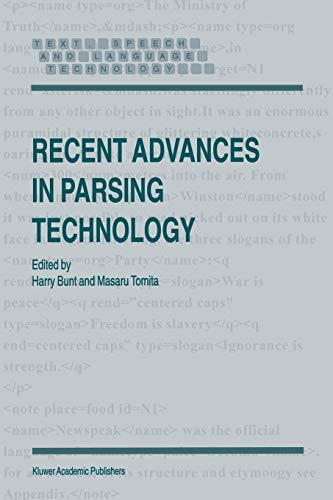 9781402003714: Recent Advances in Parsing Technology (Text, Speech and Language Technology)