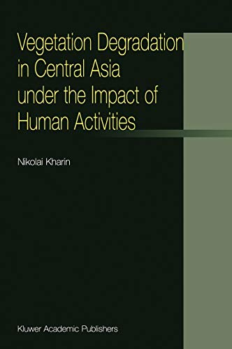 9781402003974: Vegetation Degradation in Central Asia under the Impact of Human Activities
