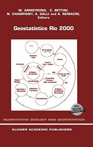 Geostatistics Rio 2000: Proceedings of the Geostatistics: Braz International Geological