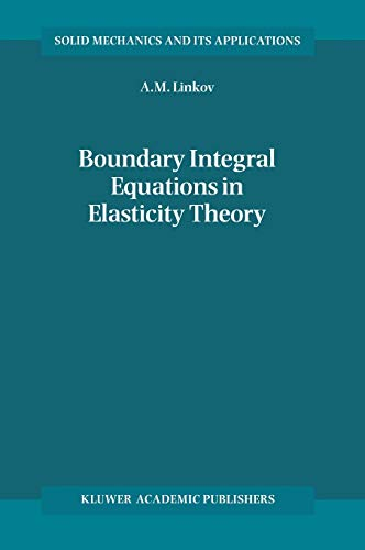 9781402005749: Boundary Integral Equations in Elasticity Theory (Solid Mechanics and Its Applications)