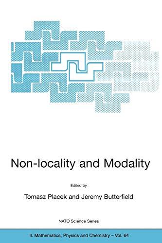 9781402006623: Non-locality and Modality (Nato Science Series II:)