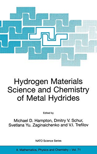 9781402007309: Hydrogen Materials Science and Chemistry of Metal Hydrides (Nato Science Series II:)