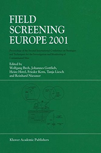 Field screening Europe 2001; proceedings.: International Conference on.Investigation