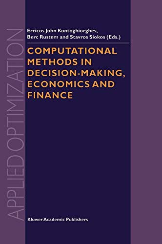 9781402008399: Computational Methods in Decision-Making, Economics and Finance (Applied Optimization)