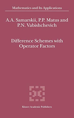9781402008566: Difference Schemes with Operator Factors (Mathematics and Its Applications)