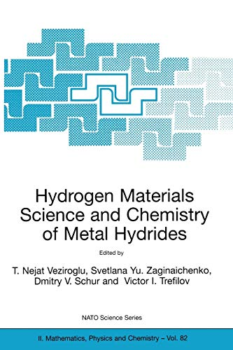 9781402008696: Hydrogen Materials Science and Chemistry of Metal Hydrides (Nato Science Series II:)