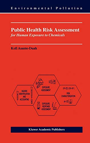 Public Health Risk Assessment Human By Asante Duah  Abebooks