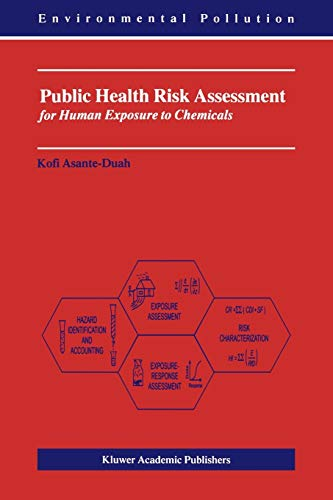 9781402009211: Public Health Risk Assessment for Human Exposure to Chemicals (Environmental Pollution)