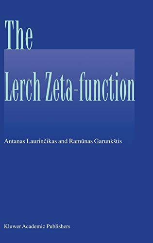 9781402010149: The Lerch zeta-function