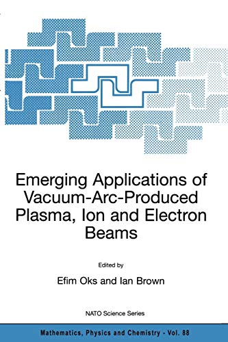 9781402010668: Emerging Applications of Vacuum-Arc-Produced Plasma, Ion and Electron Beams (Nato Science Series II:)