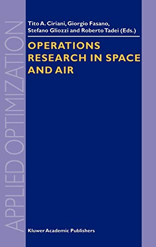 Operations Research in Space and Air Applied Optimization