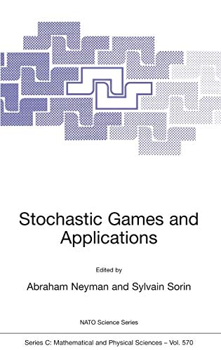 Stochastic Games and Applications Nato Science Series C closed