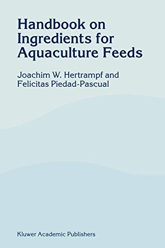 9781402015274: Handbook on Ingredients for Aquaculture Feeds