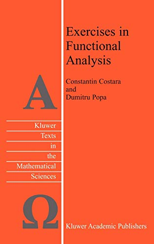 9781402015601: Exercises in Functional Analysis (Texts in the Mathematical Sciences)