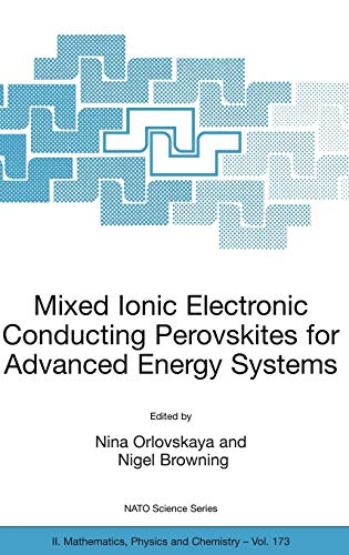 Mixed Ionic Electronic Conducting Perovskites for Advanced Energy Systems: Nina Orlovskaya