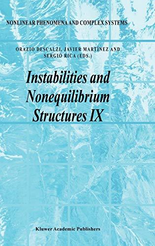 Instabilities And No Nequilibrium Structures Ix (Hb)