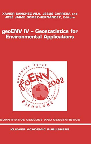 GeoENV IV: Proceedings of the Fourth European Conference on Geostatistics for Environmental ...