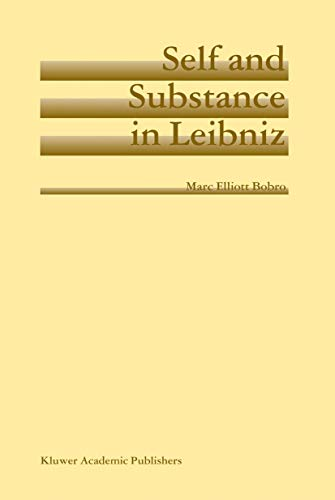 9781402020247: Self and Substance in Leibniz