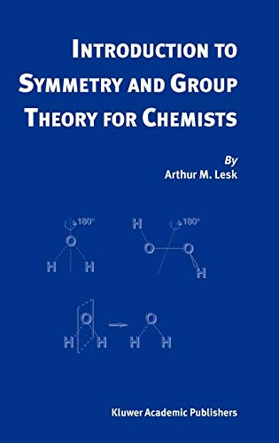 9781402021503: Introduction to Symmetry and Group Theory for Chemists
