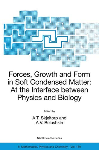 Forces, Growth and Form in Soft Condensed Matter: At the Interface between Physics and Biology )