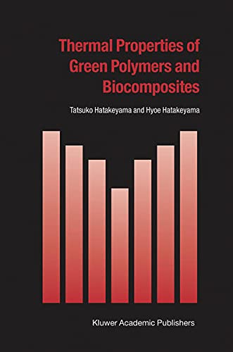 9781402023545: Thermal Properties of Green Polymers and Biocomposites