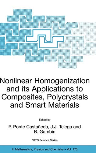 9781402026218: Nonlinear Homogenization And Its Applications To Composites, Polycrystals And Smart Materials