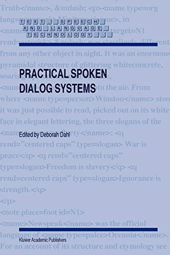 9781402026751: Practical Spoken Dialog Systems (Text, Speech and Language Technology)