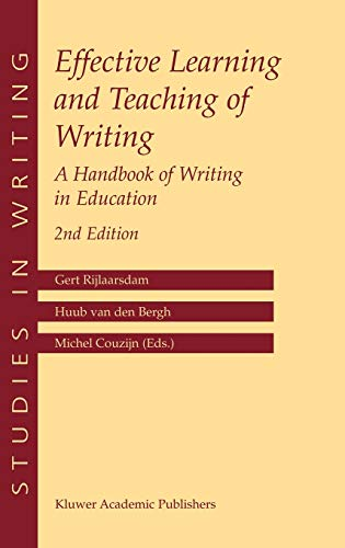 Effective Learning and Teaching of Writing: Gert Rijlaarsdam