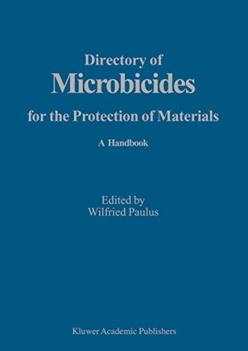 9781402028175: Directory of Microbicides for the Protection of Materials: A Handbook