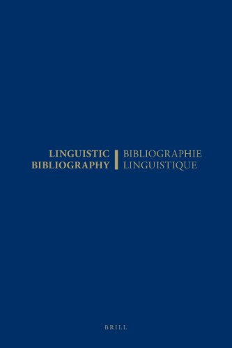 Linguistic Bibliography for the Year 2000 / Bibliographie Linguistique De L Annee 2000: And ...