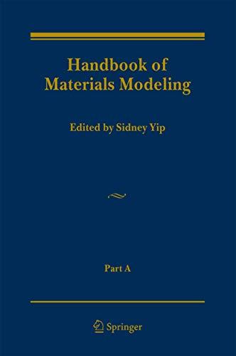 Handbook of Materials Modeling: Sidney Yip