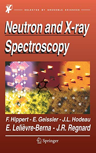 9781402033360: Neutron and X-ray Spectroscopy
