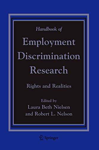 9781402033704: Handbook of Employment Discrimination Research: Rights and Realities