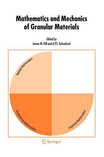 9781402037818: Mathematics and Mechanics of Granular Materials