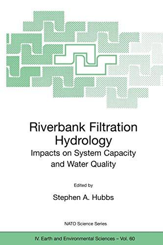 Riverbank Filtration Hydrology (Nato Science Series: IV:): Springer