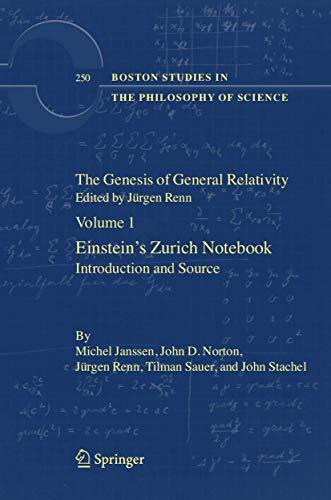 The Genesis Of General The Relativity (4 Volume Set)