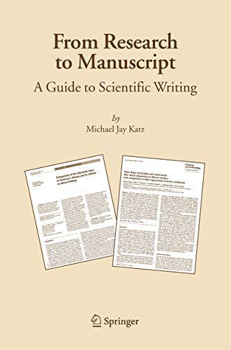 Guide to science writing research manuscripts