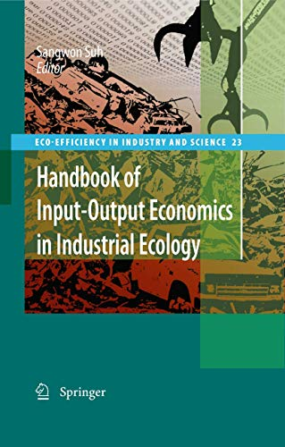 Handbook of Input-Output Economics in Industrial Ecology (Hardback)