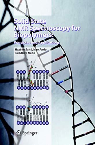 9781402043024: Solid State NMR Spectroscopy for Biopolymers: Principles and Applications